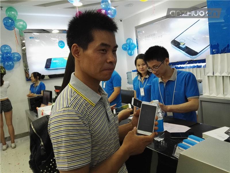 魅族手机新旗舰MX5广州首售1799元起的照片 - 9