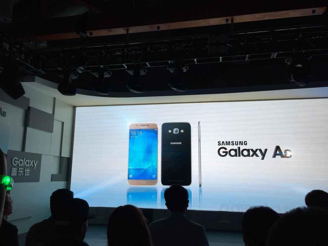三星 Galaxy A8 手机3199元起正式发布的照片 - 2