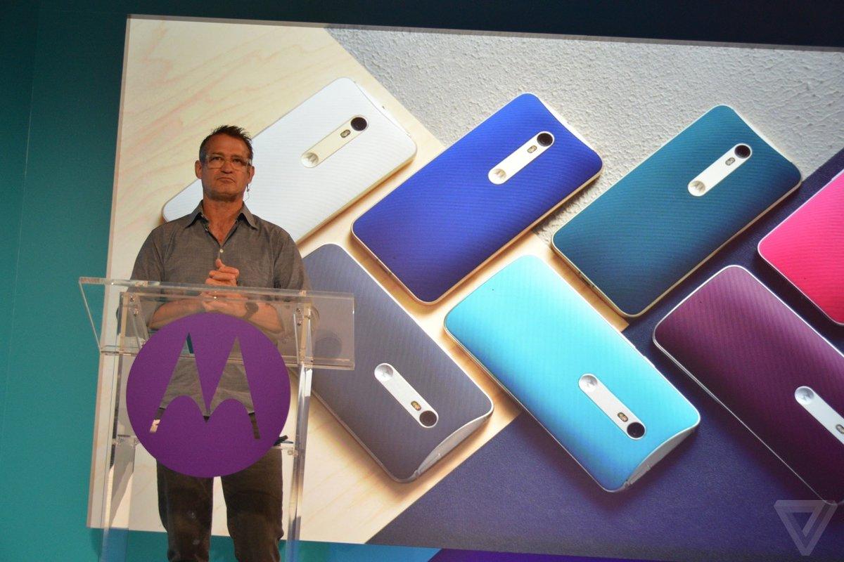 摩托罗拉手机新品发布会总结 三机配置一览的照片 - 6