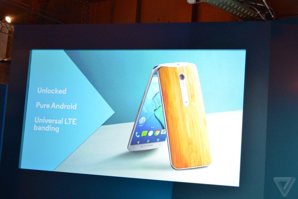 摩托罗拉手机新品发布会总结 三机配置一览的照片 - 7