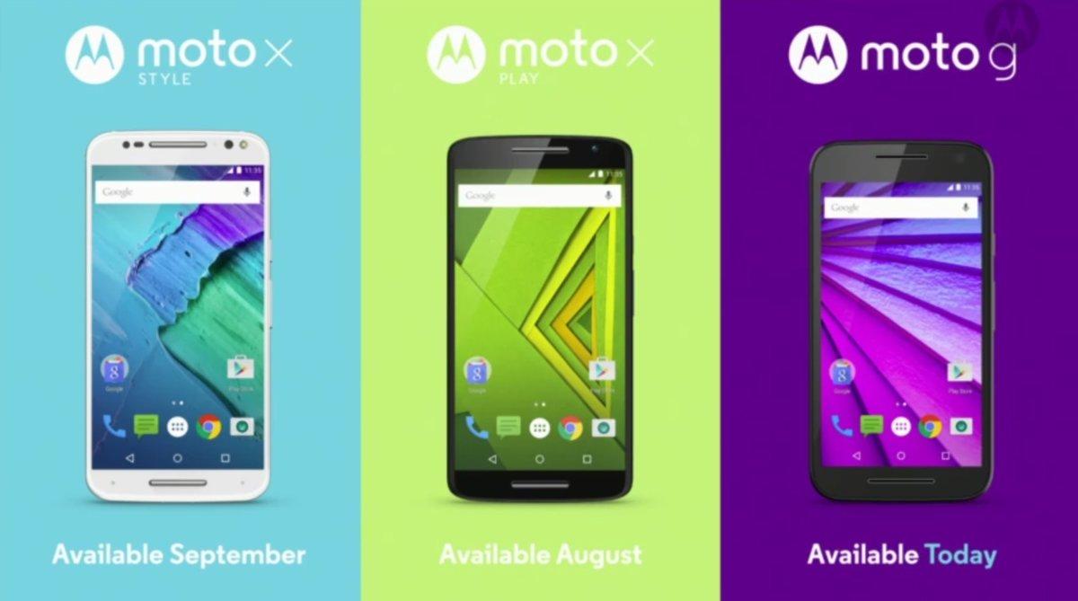 摩托罗拉手机新品发布会总结 三机配置一览的照片 - 5