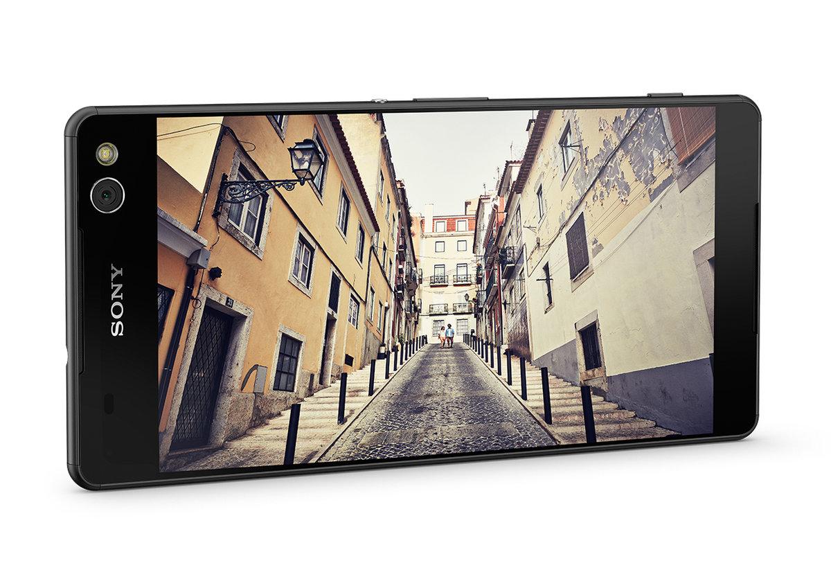 索尼SONY准无边框手机Xperia C5 Ultra发布的照片 - 3