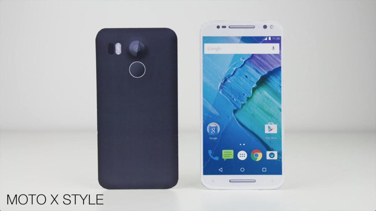 视频都出了 谷歌Nexus 5(2015)模型机与各大旗舰外观对比的照片 - 1