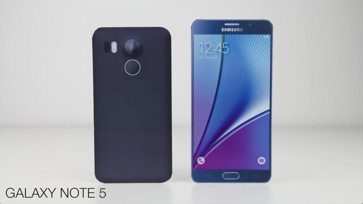 视频都出了 谷歌Nexus 5(2015)模型机与各大旗舰外观对比的照片 - 3