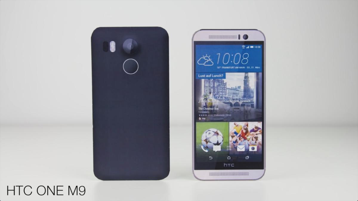 视频都出了 谷歌Nexus 5(2015)模型机与各大旗舰外观对比的照片 - 4