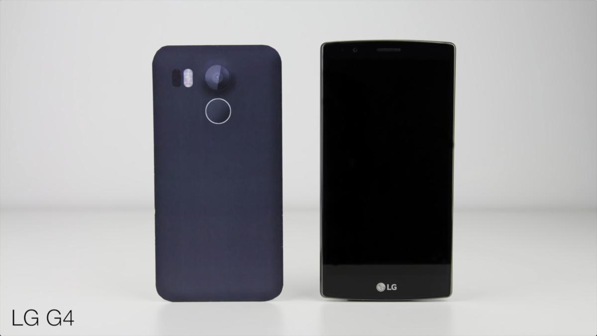 视频都出了 谷歌Nexus 5(2015)模型机与各大旗舰外观对比的照片 - 7