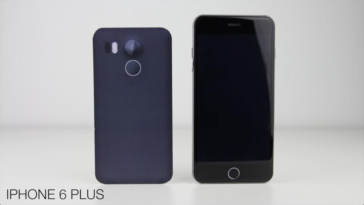 视频都出了 谷歌Nexus 5(2015)模型机与各大旗舰外观对比的照片 - 8
