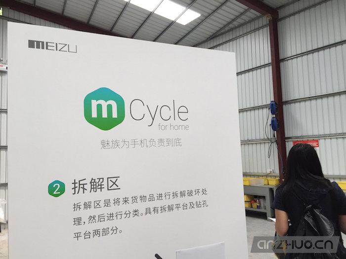 为绿色牵头:魅族mCycle回收工厂参观纪实的照片 - 9