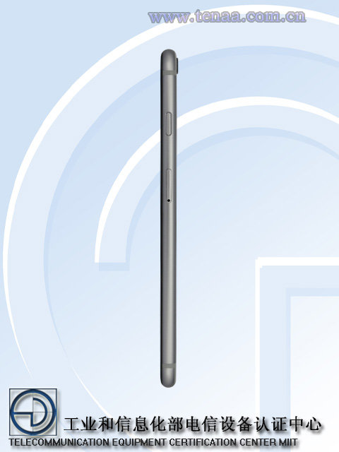 """iPhone 6s工信部照片显示后壳没""""S""""的照片 - 9"""