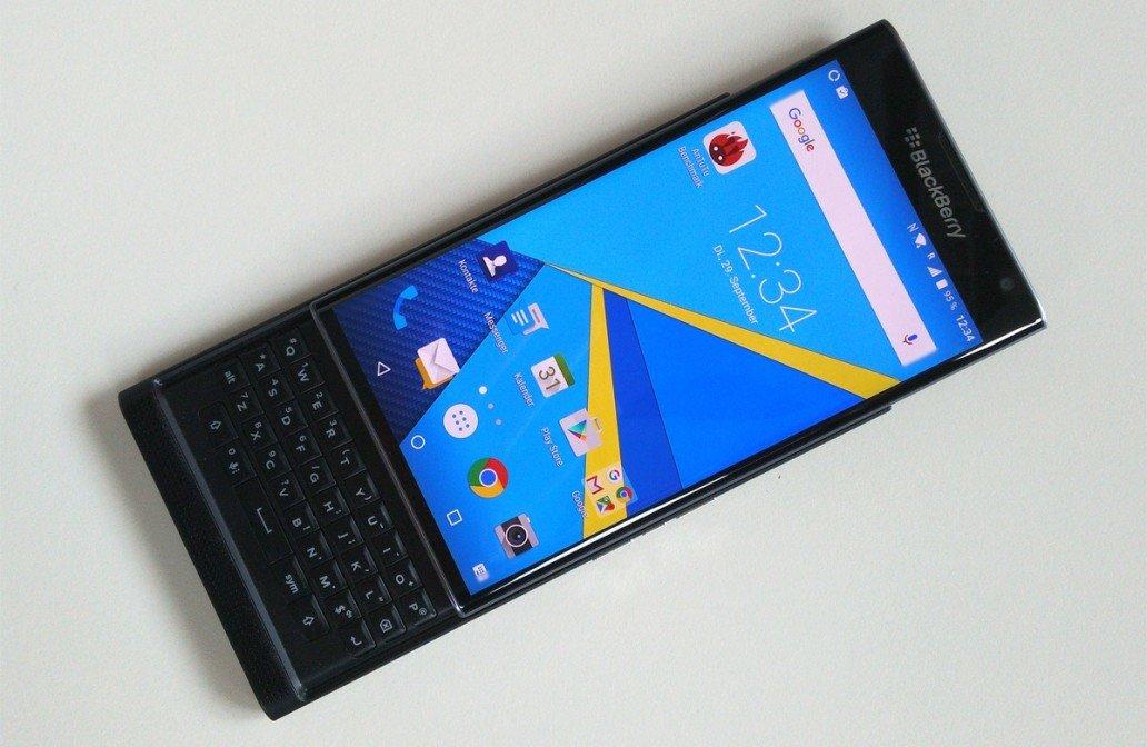 别具一格:黑莓首款安卓机Blackberry Priv图赏的照片 - 1