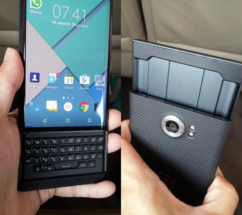 别具一格:黑莓首款安卓机Blackberry Priv图赏的照片 - 5