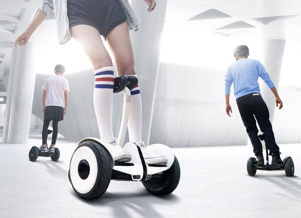 小米次世代玩具:九号平衡车图赏的照片 - 1