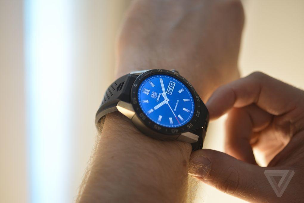 圆形表盘+1500美元售价:豪雅Connected智能手表图赏的照片 - 18