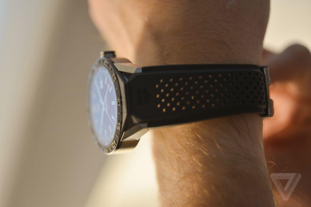 圆形表盘+1500美元售价:豪雅Connected智能手表图赏的照片 - 15