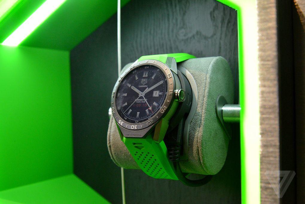 圆形表盘+1500美元售价:豪雅Connected智能手表图赏的照片 - 12