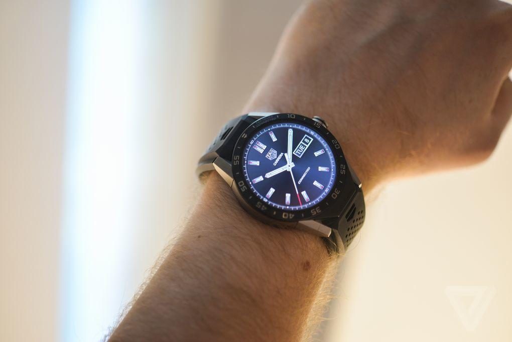 圆形表盘+1500美元售价:豪雅Connected智能手表图赏的照片 - 20
