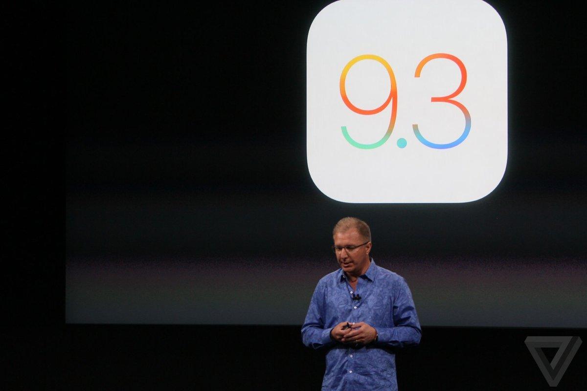 推送变砖成事实:苹果暂停部分设备iOS 9.3推送的照片 - 2