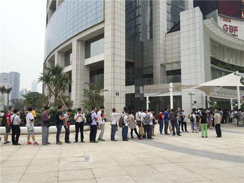 小米之家全面进驻广州成都线下商场 总裁林斌亲临剪彩的照片 - 2