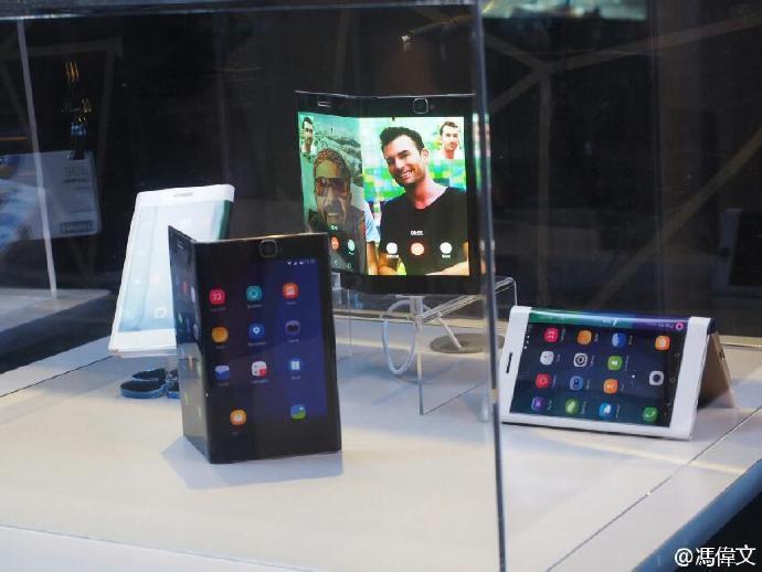 屏幕主板电池全部可折叠:联想公布全新可弯曲智能手机的照片 - 8
