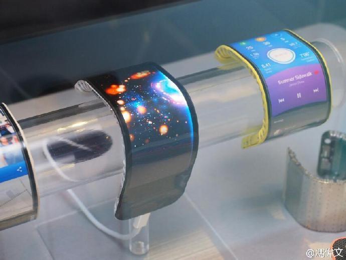 屏幕主板电池全部可折叠:联想公布全新可弯曲智能手机的照片 - 10