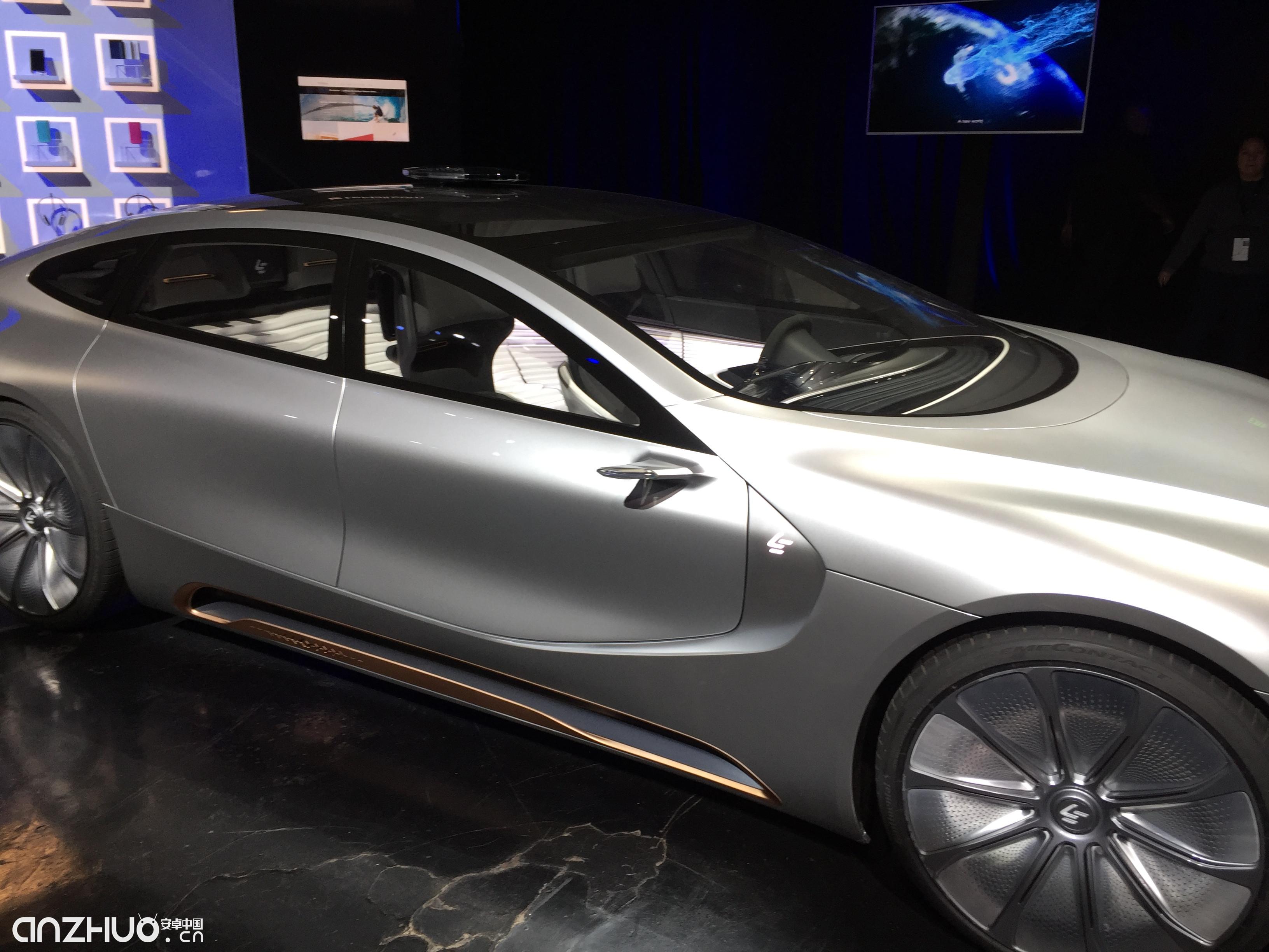 参与 变形金刚5 拍摄 乐视超级汽车LeSEE Pro图赏高清图片