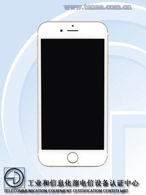 """iPhone 6s工信部照片显示后壳没""""S""""的照片 - 3"""