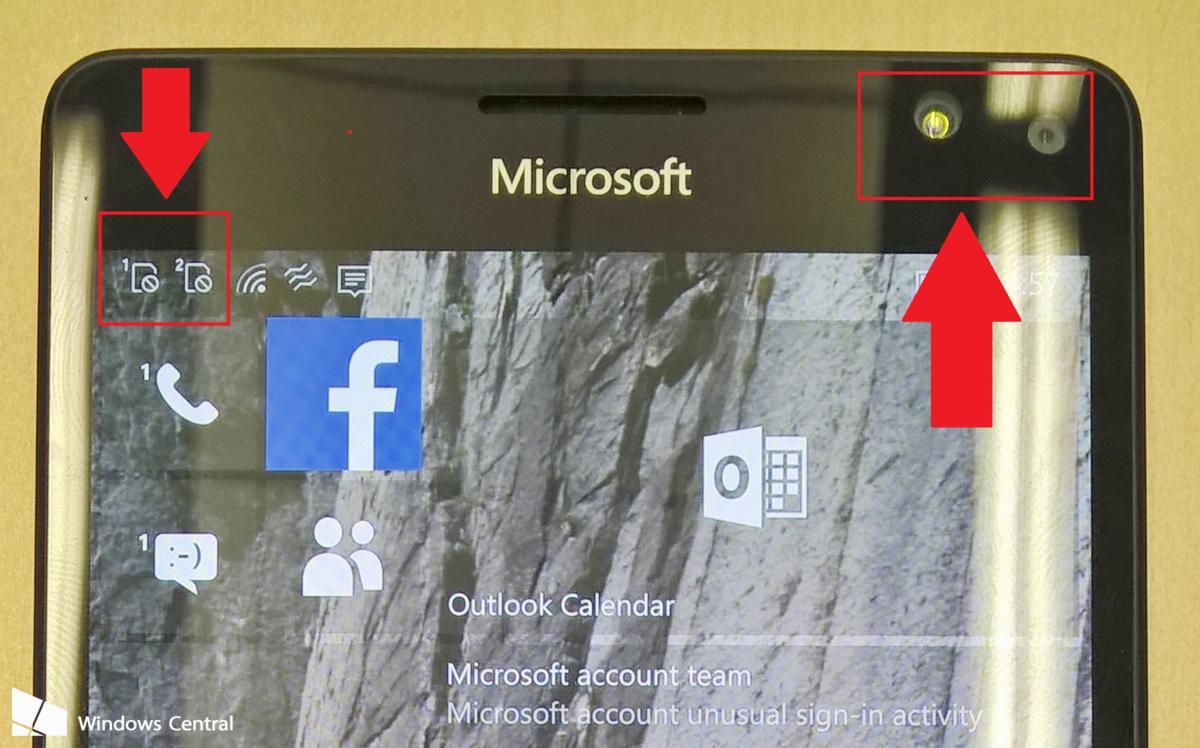 微软Lumia 950/950 XL真机图曝光的照片 - 1