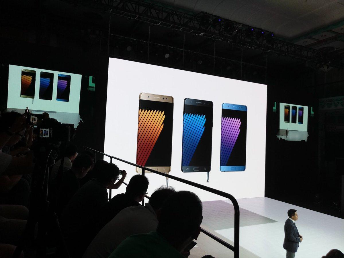 机皇登陆 国行三星Galaxy Note7正式发布 售价5988元起的照片 - 4
