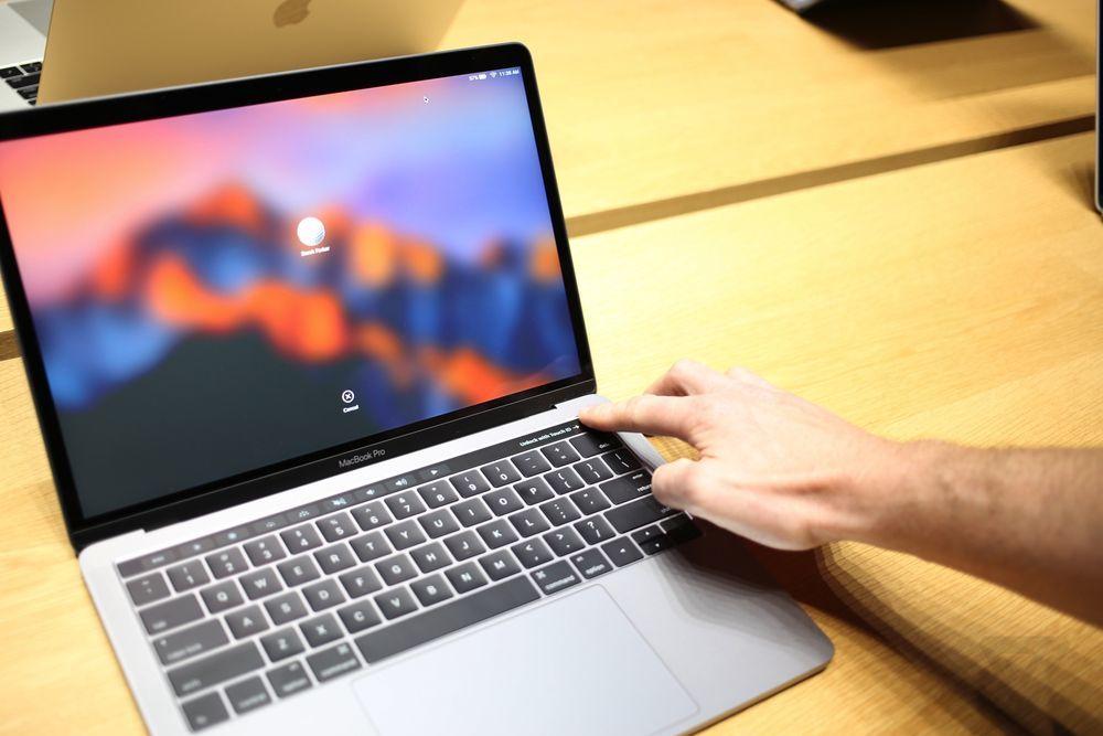 MacBook Pro 2016款上手图赏