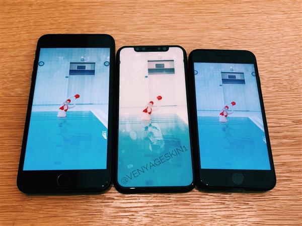 简直美翻了!亮屏的iPhone_8对比iPhone_7/7_Plus:颜值暴涨