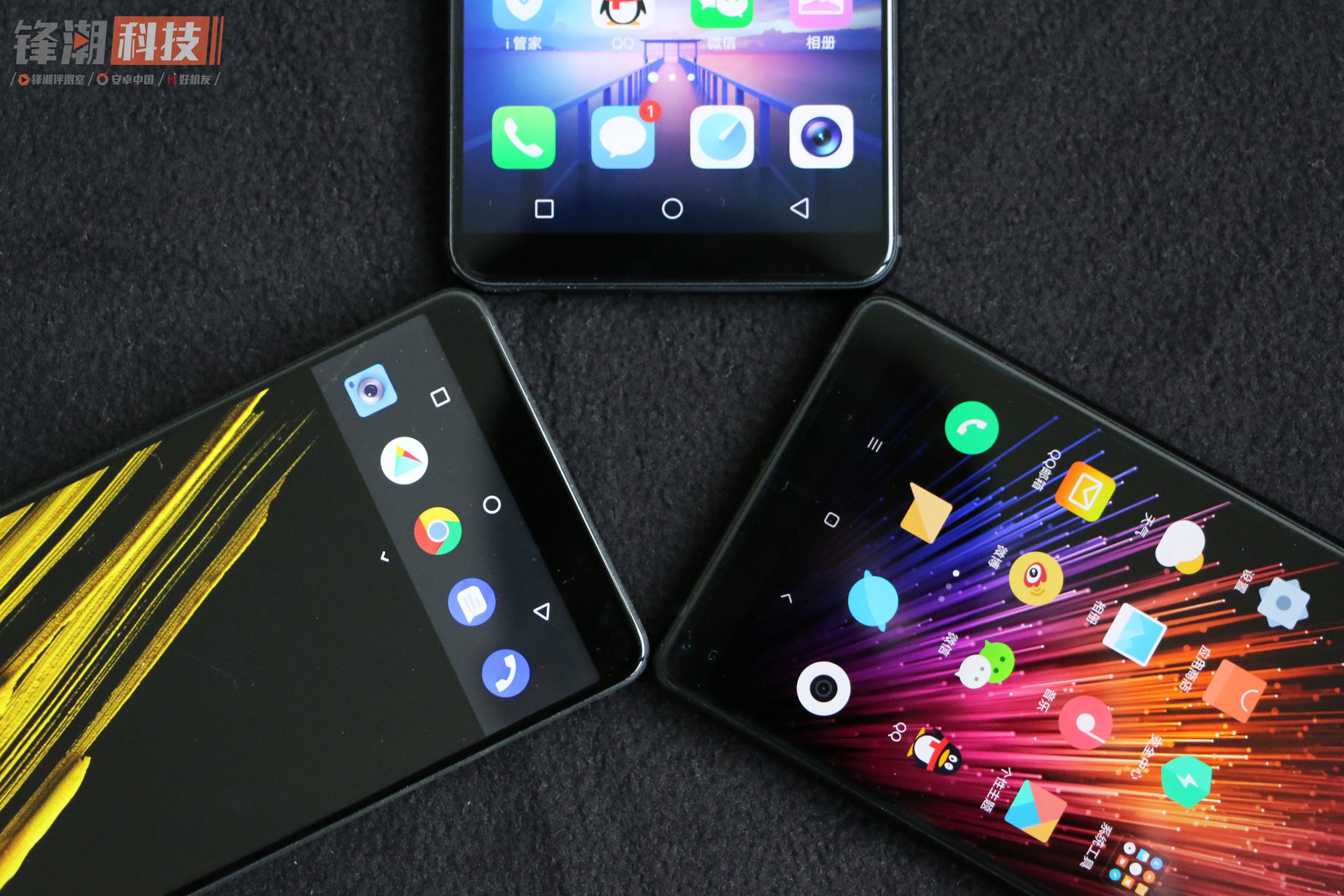 【力皮西】差异化会有何种体验?三种流派全面屏手机 体验评测