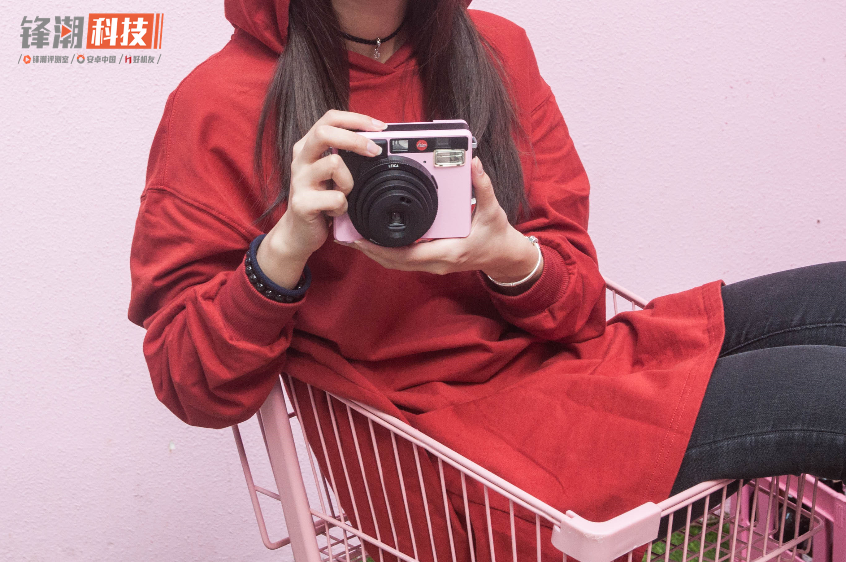 【力皮西】小红标的少女情怀,粉色徕卡Sofort体验
