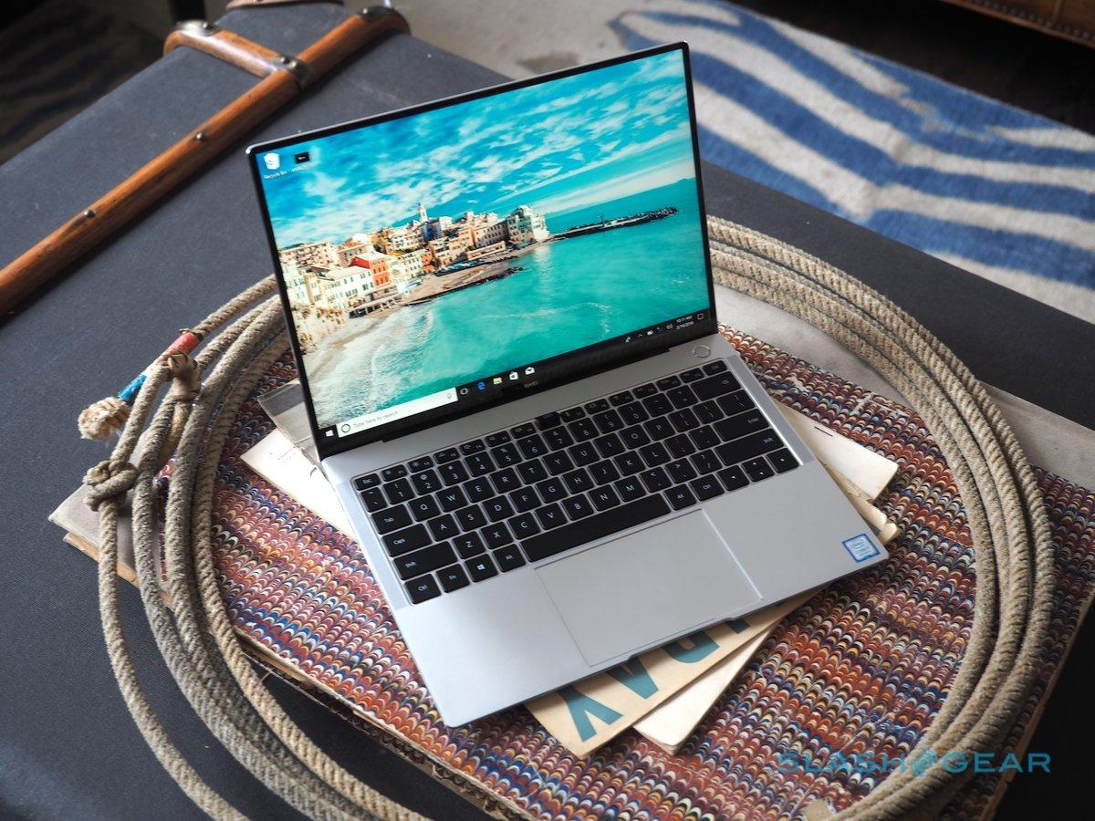 可触控全面屏笔记本:华为MateBook X Pro 真机图赏 - 热点资讯 好物资讯 第1张