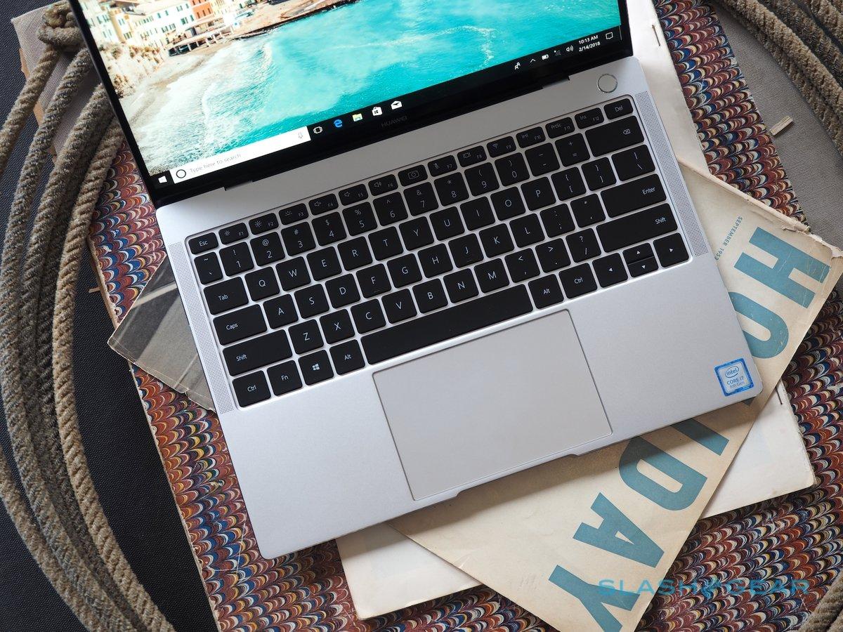 可触控全面屏笔记本:华为MateBook X Pro 真机图赏 - 热点资讯 好物资讯 第4张