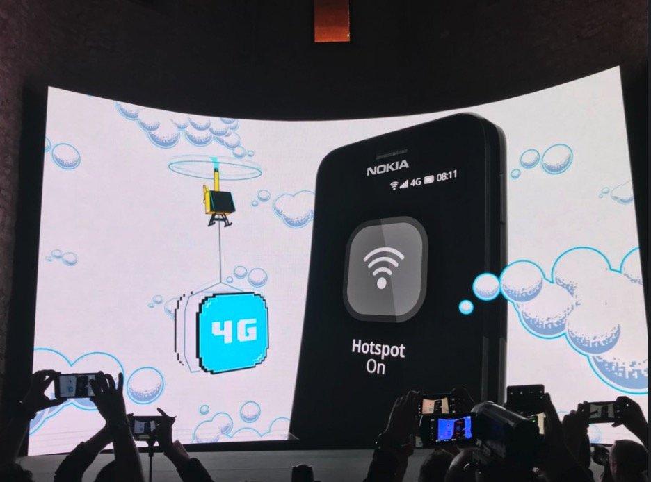 手机届的妖娆艳货!诺基亚8110 4G版发布:滑盖智能机 - 热点资讯 好物资讯 第2张