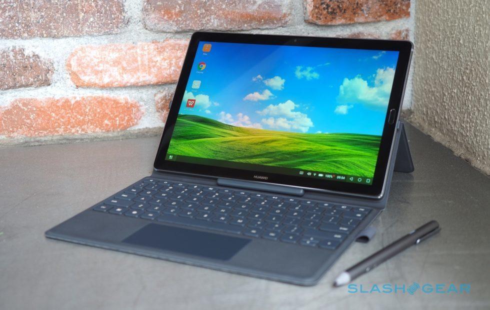 采用2.5D玻璃屏幕:华为MediaPad M5 真机图赏 - 热点资讯 首页 第1张