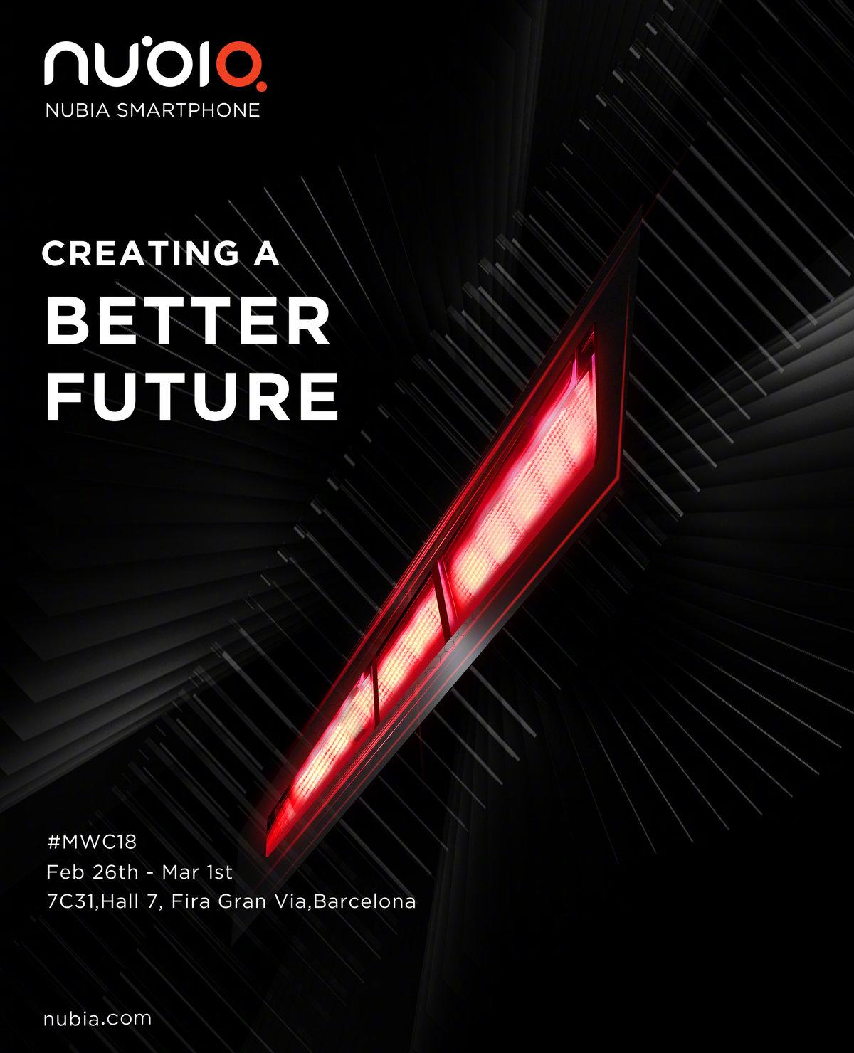 游戏机+性能怪兽+Hi-Fi?nubia将在MWC发布骁龙845新机 - 热点资讯 首页 第3张