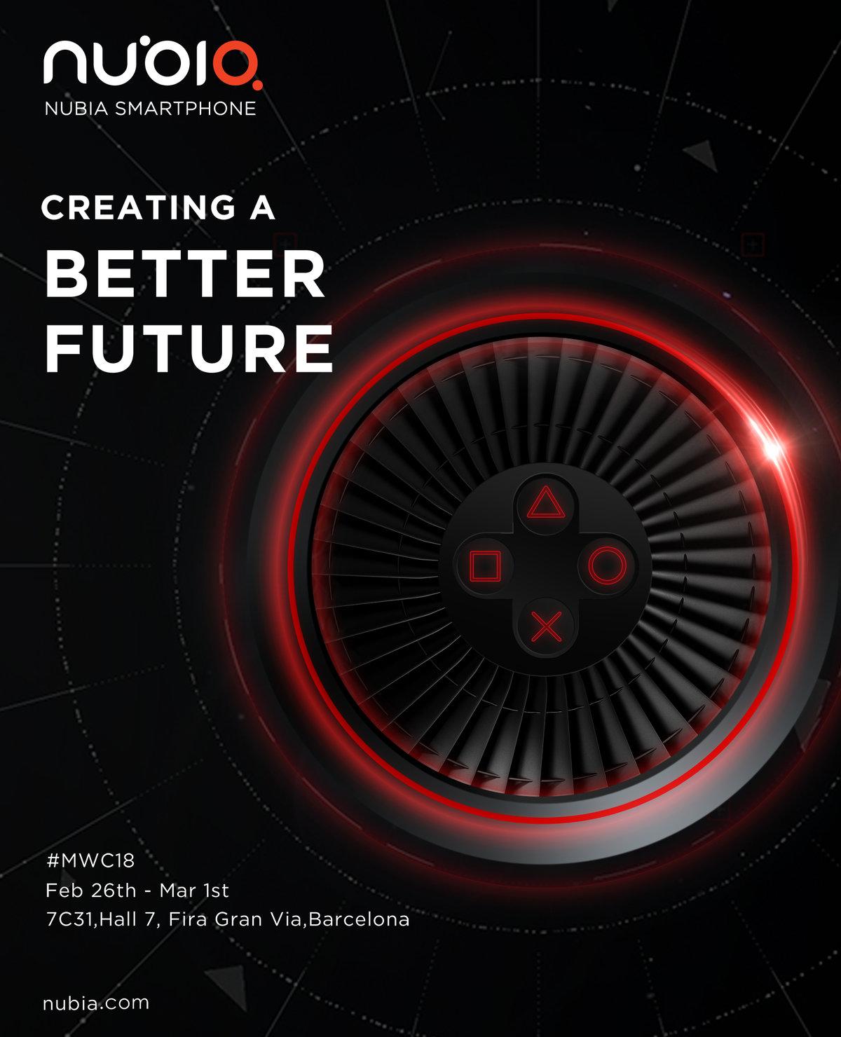 游戏机+性能怪兽+Hi-Fi?nubia将在MWC发布骁龙845新机 - 热点资讯 首页 第4张