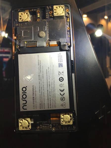 超跑设计+内置4风扇 !努比亚推出黑科技概念游戏手机 - 热点资讯 好物资讯 第6张