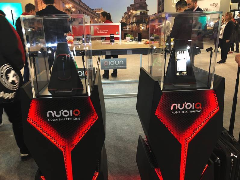 超跑设计+内置4风扇 !努比亚推出黑科技概念游戏手机 - 热点资讯 好物资讯 第2张