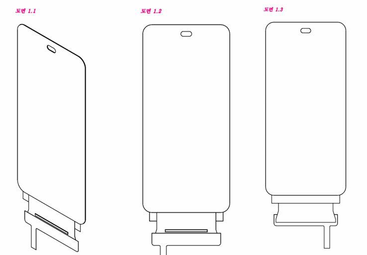没有齐刘海!LG全面屏专利曝光 屏幕缺口感人 - 热点资讯 首页 第1张