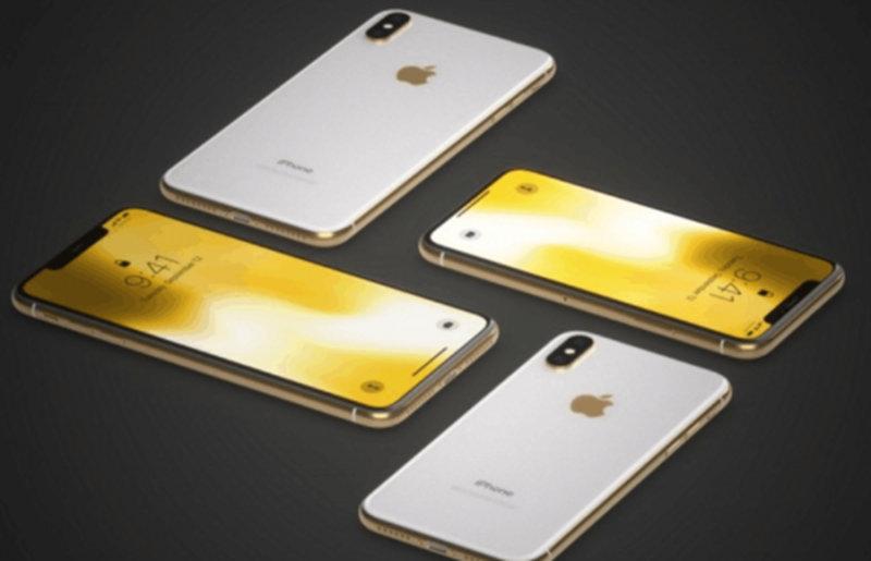 土豪金iPhone X渲染图出炉!可实在有点辣眼睛 - 热点资讯 首页 第1张