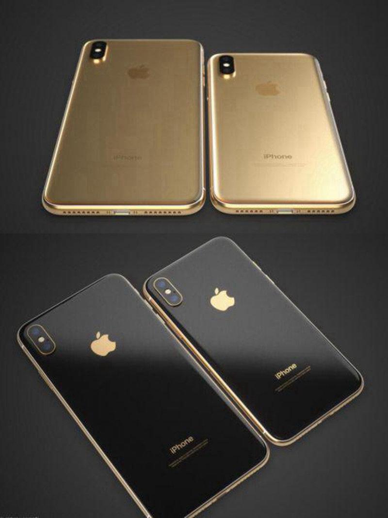 土豪金iPhone X渲染图出炉!可实在有点辣眼睛 - 热点资讯 首页 第2张
