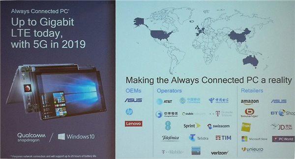 高通:5G版Windows 10 ARM笔记本明年推出 - 热点资讯 好物资讯 第2张