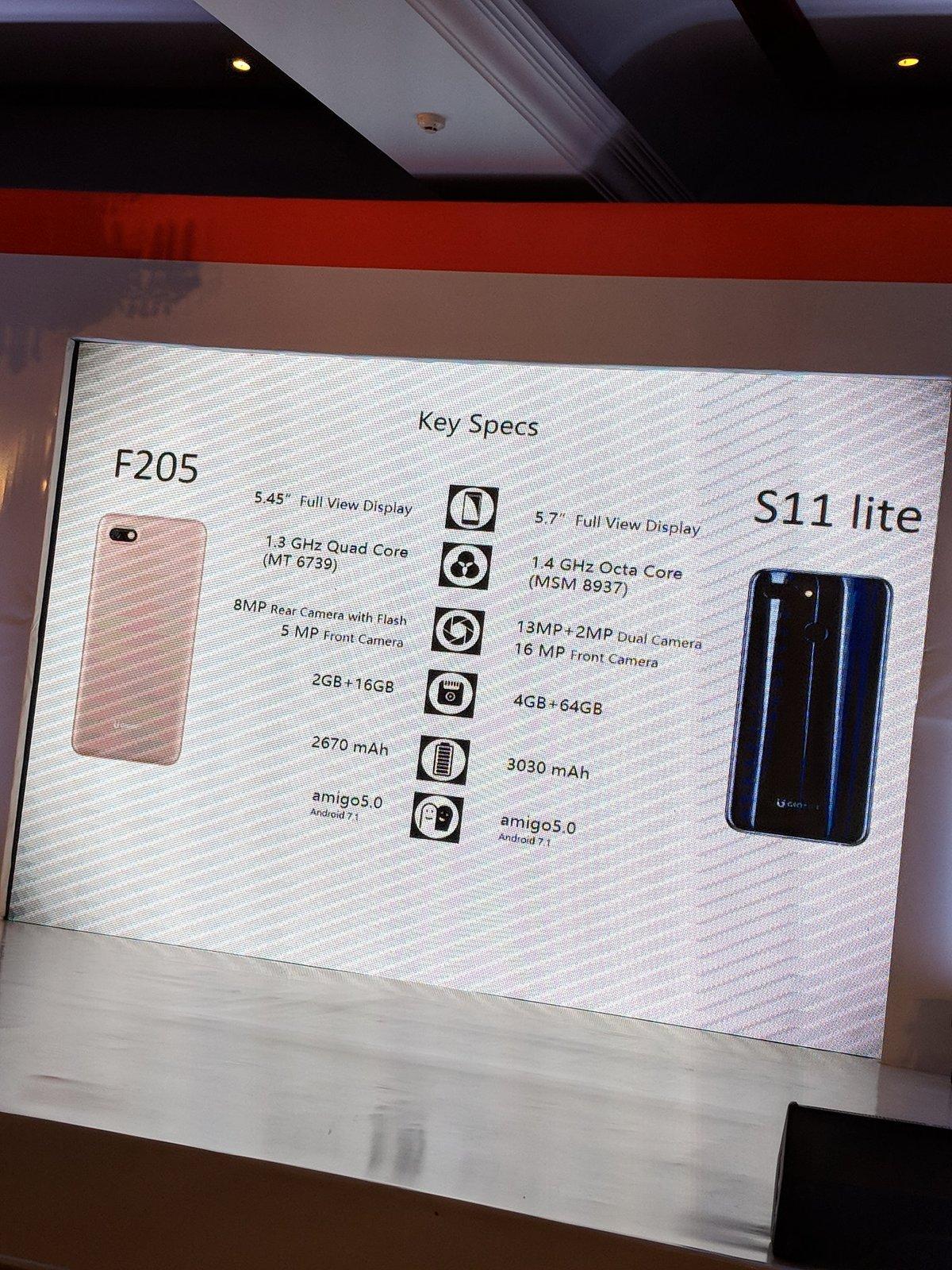 """另辟生路,金立在印度发布""""新机"""" F205 和 S11Lite - 热点资讯 好物资讯 第4张"""