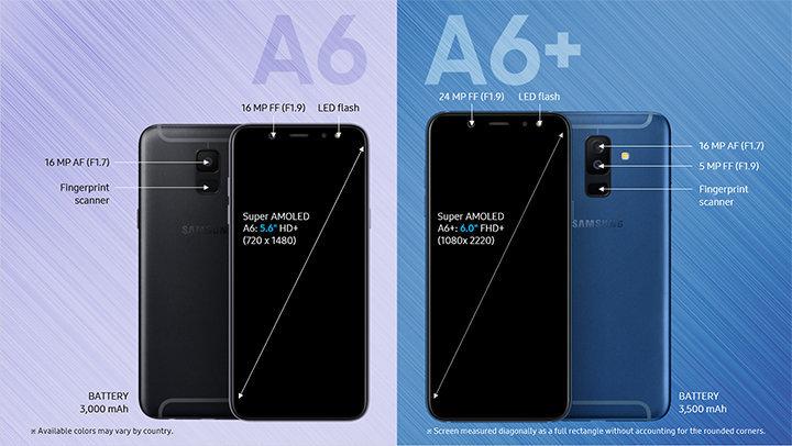 三星 Galaxy A6/ A6+ 正式发布,5 月开始发售 - 热点资讯 好物资讯 第3张