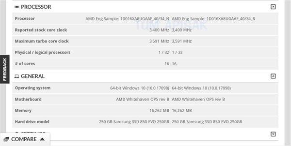 AMD第二代线程撕裂者曝光:继续提升频率 - 热点资讯 好物资讯 第2张