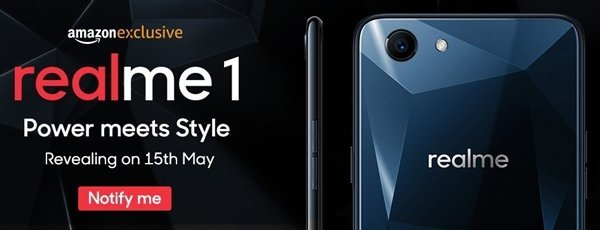 OPPO Realme1 正式发布:3GB+32GB 仅售 832 元 - 热点资讯 好物资讯 第1张