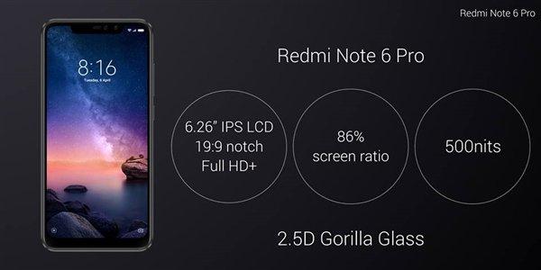 红米Note 6 Pro海外发布:搭载骁龙636 售价约1500元 - 热点资讯