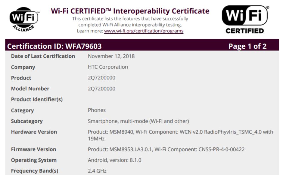 HTC入门机曝光,搭载这款处理器未免太自信 - 热点资讯